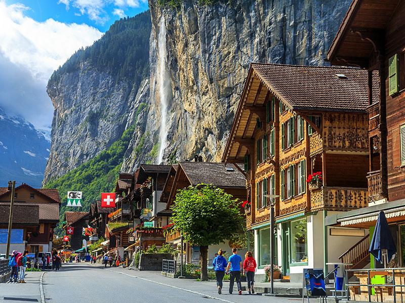 Reiseziel Schweiz
